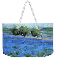 Bluebonnets Weekender Tote Bag