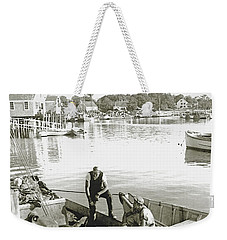 Bluefin Tuna At Barnstable Harbor Weekender Tote Bag