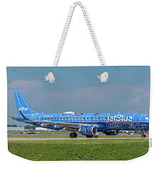 Weekender Tote Bag featuring the photograph Blueprint by Guy Whiteley