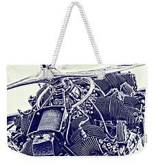 Blueprint Radial Weekender Tote Bag
