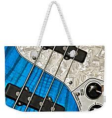 Blues Bass Weekender Tote Bag