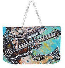 Blues Cat Revisited Weekender Tote Bag