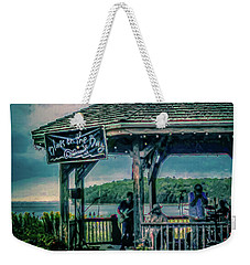 Blues On The Bay Weekender Tote Bag