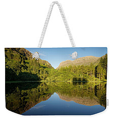Blues Skies In Glencoe Weekender Tote Bag