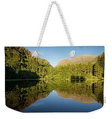 Blues Skies In Glencoe Weekender Tote Bag