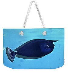 Bluespine Unicorn Fish Weekender Tote Bag