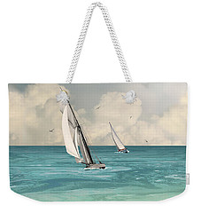 Bluewater Cruising Sailboats Weekender Tote Bag