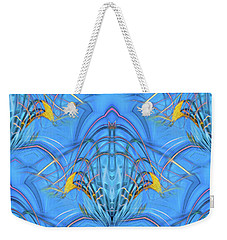 Weekender Tote Bag featuring the photograph Bluold by Theodore Jones