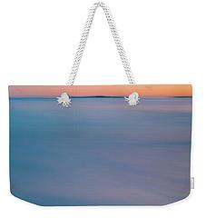 Blurry Ocean Sunrise Weekender Tote Bag