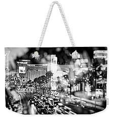 Blurry Vegas Nights IIi Weekender Tote Bag