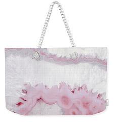 Blush Agate Weekender Tote Bag