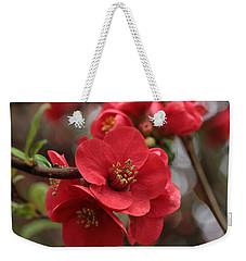 Blushing Blooms Weekender Tote Bag