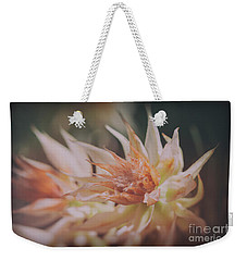 Weekender Tote Bag featuring the photograph Blushing Bride by Linda Lees