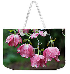 Blushing Dogwood Blooms Weekender Tote Bag