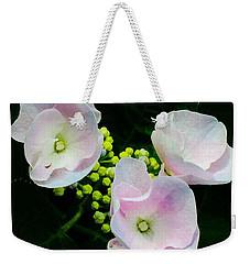 Blushing Pink Sisters Weekender Tote Bag