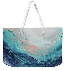 Blushing Sky Weekender Tote Bag