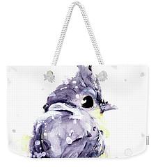 Weekender Tote Bag featuring the painting Blustery by Dawn Derman