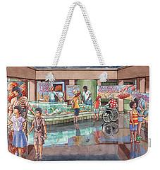 Bmnsm Interior 1 Weekender Tote Bag by Melanie Moraga