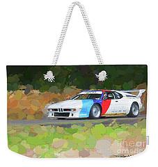 Bmw M1 Weekender Tote Bag