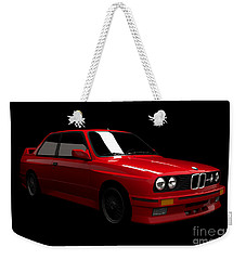 Bmw M3 E30 Weekender Tote Bag