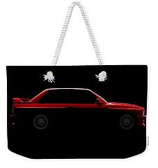 Bmw M3 E30 - Side View Weekender Tote Bag