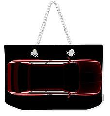 Bmw M3 E30 - Top View Weekender Tote Bag