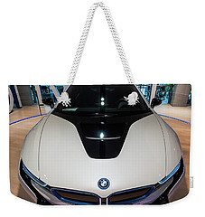 Weekender Tote Bag featuring the photograph BMW by Sergey Simanovsky