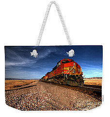 Bnsf Freight  Weekender Tote Bag by Rob Hawkins