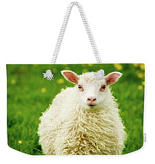 Bo Peep's Sheep Weekender Tote Bag by Joan Davis