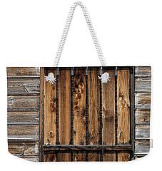 Boarded Window Weekender Tote Bag