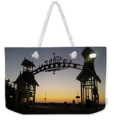 Boardwalk Arch At Dawn Weekender Tote Bag