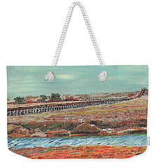 Boardwalk At Sandwich Ma Weekender Tote Bag