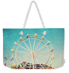 Boardwalk Ferris Wheel Weekender Tote Bag by Melanie Alexandra Price