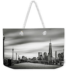 Boardwalk Into The City Weekender Tote Bag by Eduard Moldoveanu