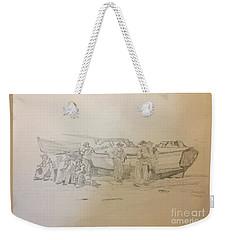 Boat Crew Weekender Tote Bag