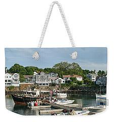 Boat Dock Weekender Tote Bag