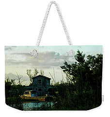 Boat House Weekender Tote Bag by Cynthia Powell