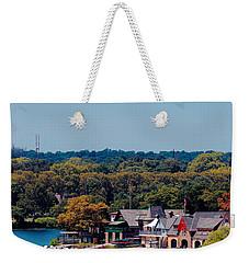 Boat House Row Weekender Tote Bag