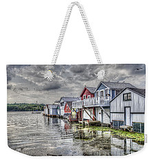 Boat Houses In The Finger Lakes Weekender Tote Bag