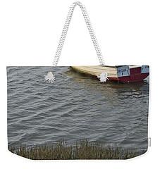 Boat In Ria Formosa - Faro Weekender Tote Bag