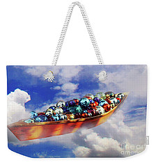 Boat In The Clouds Weekender Tote Bag
