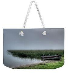 Boat In The Fog Weekender Tote Bag