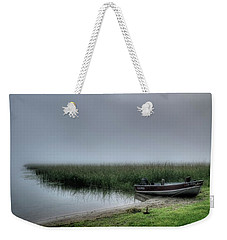 Boat In The Fog Weekender Tote Bag