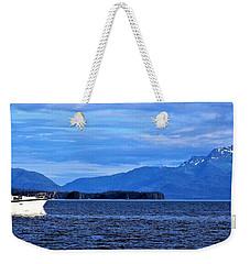 Boat Weekender Tote Bag