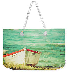Boat On The Shore Weekender Tote Bag