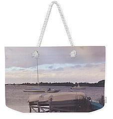Boat Parking Weekender Tote Bag by JAMART Photography