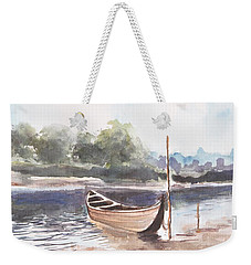 Boat Ride Weekender Tote Bag