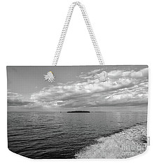 Boat Wake On Florida Bay Weekender Tote Bag