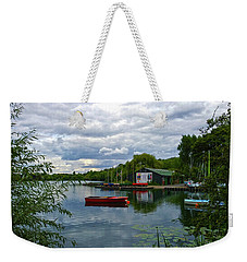 Boathouse Weekender Tote Bag