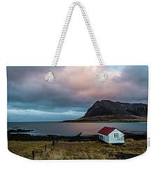 Boathouse At Sunrise Weekender Tote Bag